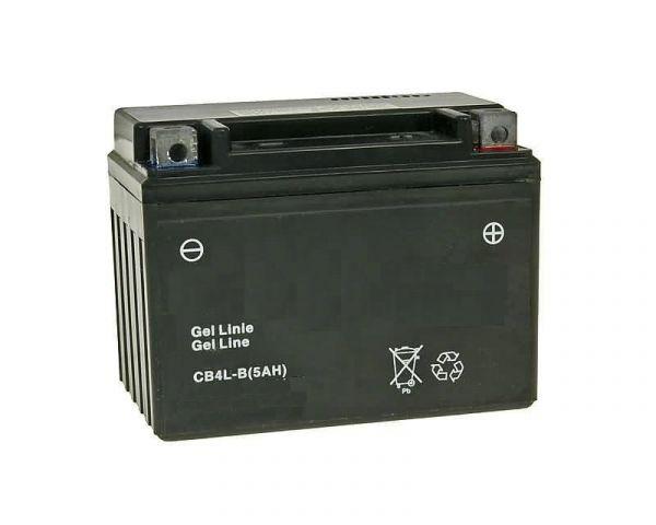 Rollerbatterie 12V 5AH YT4L SLA4L YTX4L-BS 11,5x9x7cm Roller Batterie