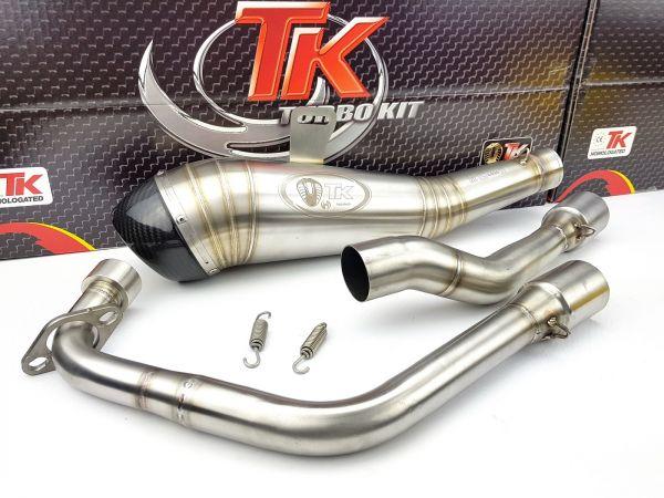 Turbo Kit ROAD GP H3 Carbon Sport Auspuff Honda CBR 125 4T 11 12 13