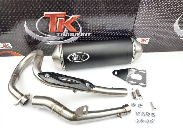 Turbo Kit X-Road Edelstahl Sport Auspuff SUZUKI DR 125 4T AC 08-10