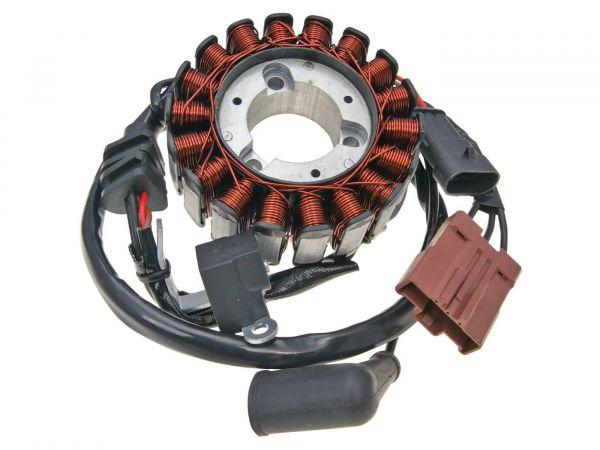 Komplette Lichtmaschine Stator Aprilia Piaggio Vespa Gilera 125 - 300