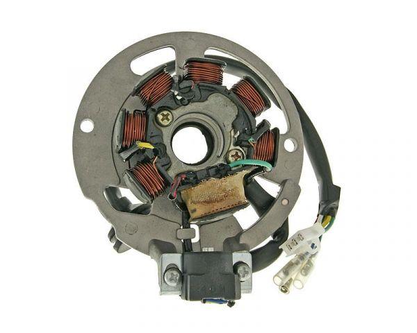 Lichtmaschine Stator CPI Explorer Generic Keeway 50 2 Takt E2 6 Kabel