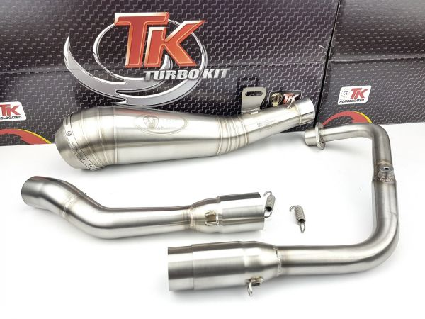 Turbokit ROAD GP Sport Auspuff Aprilia RS4 RS 4 125i 125 LC 2014-2021