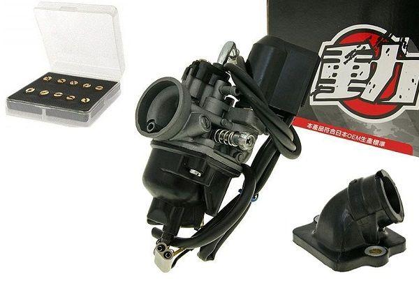 Vergaser PHVA 17,5mm Sport Piaggio Aprilia Derbi Gilera Vespa 50 2T