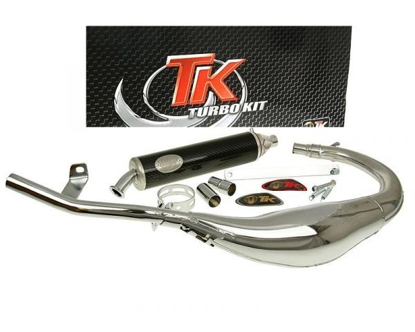 Sport Auspuff Turbo Kit Bajo RQ Chrom/Carbon Beta-RR AM6 H10073-Q