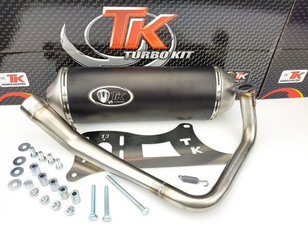 Turbo Kit GMax Sport Auspuff Kymco Dink Bet & Win Yager / Spacer 125