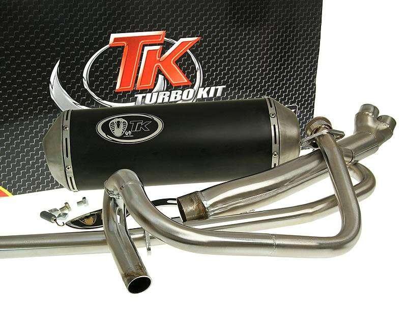 Turbo Kit X-Road 2-in-1 Auspuff Hyosung GT N E3 NE R E3 RF