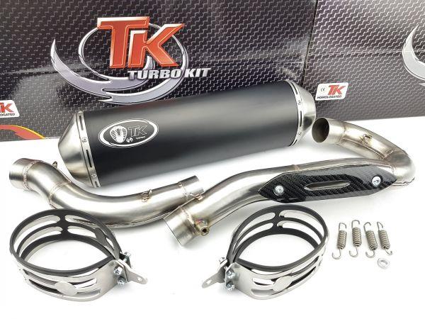 Turbo Kit Road Sport Edelstahl Auspuff KTM EXCR EXC R 450 525 08-12 4T