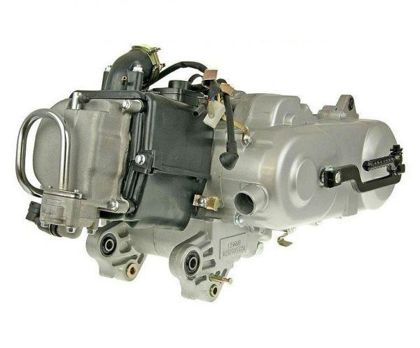 Motor Komplett 12 Zoll mit SLS 50ccm 4 Takt hinterer Trommelbremse