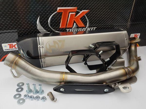 Turbo Kit GMax H7 Sport Auspuff Kymco-Xciting EVO SBA0BB 500 500i 4T