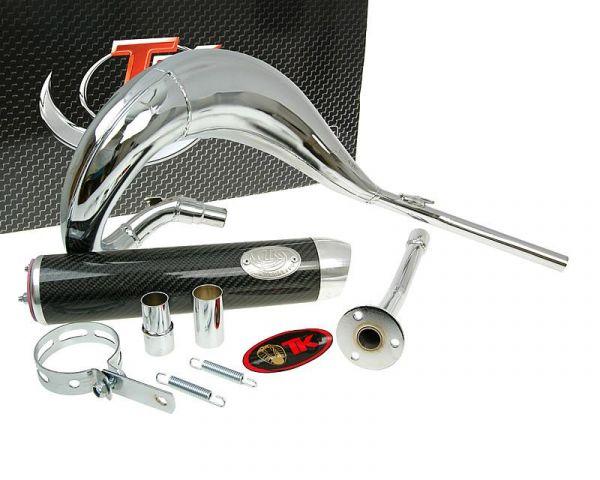 Turbo Kit Bufanda RQ Chrom/Carbon Sport Auspuff Beta RR50 AM6 bis 2004