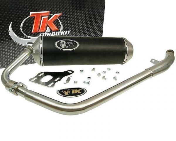 Turbo Kit X-Road Edelstahl Auspuff Daelim Roadwin R Roadsport 125 4T