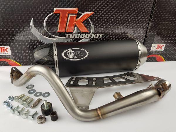 Turbo Kit GMax H2 Sport Auspuff Honda @ Nes Passion Scoopy 125-150 4T