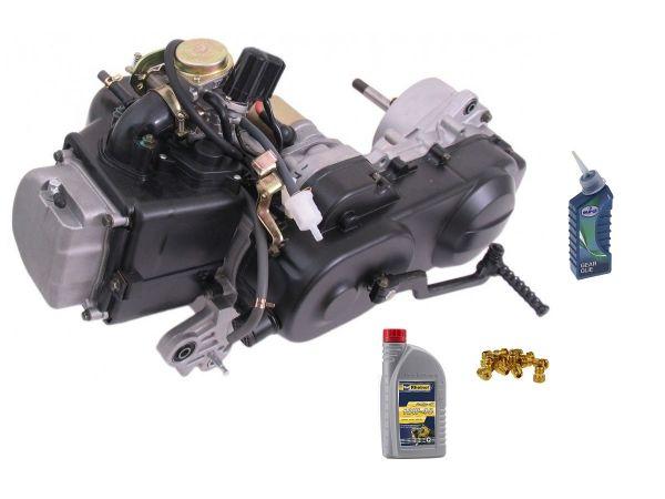 Motor Komplett 80ccm 12 Zoll + Vergaser Baotian REX 139 QMB QMA 50 4T