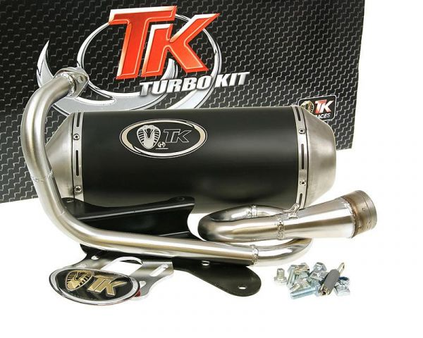 Auspuff Turbo Kit GMax Sport Italjet Jet Piaggio Fly Liberty Zip 50 4T