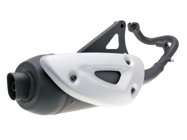 Auspuff Tecno Straight SYM Jet Euro X Basix Mask Shark ab 2000 50ccm