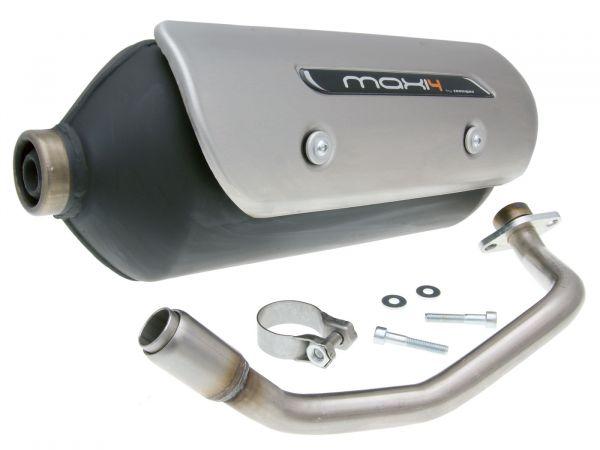 Auspuff Tecnigas NEW Maxi 4 N für Piaggio X9 Evolution 125-200 ab 05