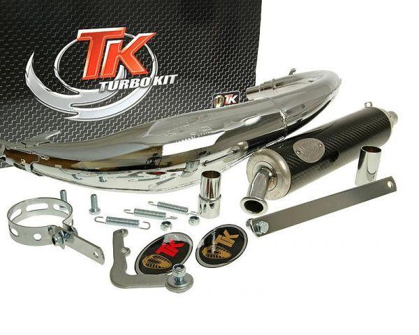 Sport Auspuff Turbo Kit Bajo RQ Chrom/Carbon für Beta RK6 AM6 H10049-Q
