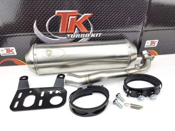 Turbo Kit Sport Edelstahl Maxi Auspuff Kymco People GT GTI 300i 14-19
