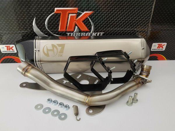Turbo Kit Carbon Sport H7 Auspuff SYM Sanyang Joymax 300 300i 4T