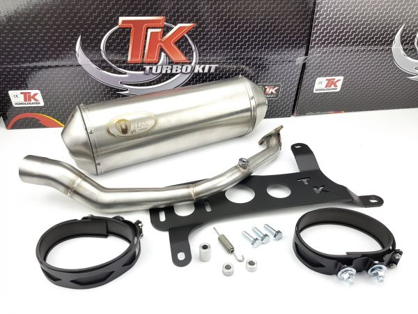 Turbo Kit Max Sport Auspuff Kymco Agility City Super 8 125 4T Vergaser