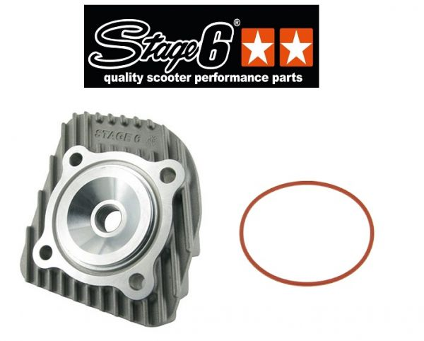 Stage6 Streetrace 46,95mm Zylinderkopf 70ccm Minarelli AC