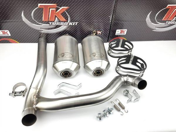 Turbo Kit Sport Auspuff POLARIS Ranger 800 Can Am Renegade 1000 4 Takt