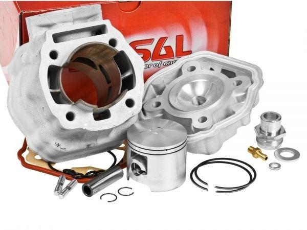 Airsal ALU Racing 80ccm Zylinder Aprilia Derbi Gilera-RCR/SMT D50B0 50