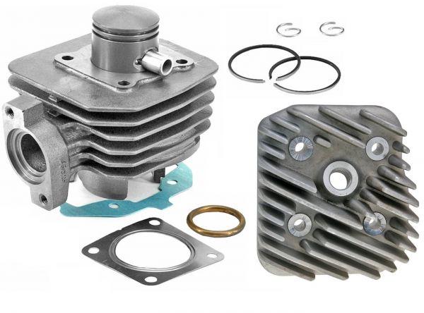 50ccm Zylinder + Kopf Peugeot Ludix Speedfight 3 4 Vivacity liegend AC