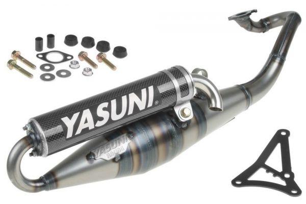 Auspuff Yasuni Scooter Z Schwarz Carbon Yamaha Minarelli 50 2T