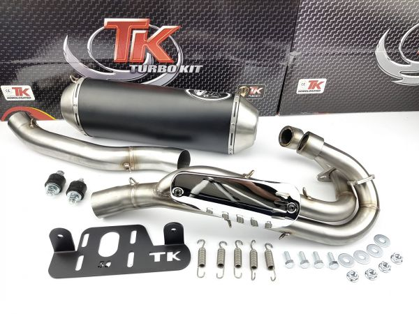 Turbo Kit Quad ATV Sport Auspuff Yamaha YFM Raptor Warrior 700 06-14