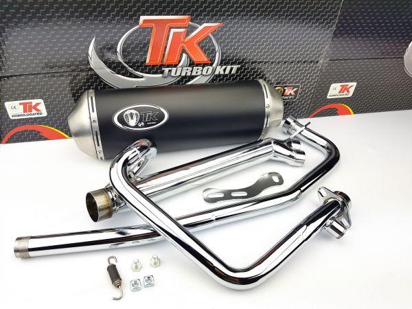 Turbo Kit X-Road 2-in-1 Auspuff Hyosung GT N E3 NE R E3 RF COMET 250