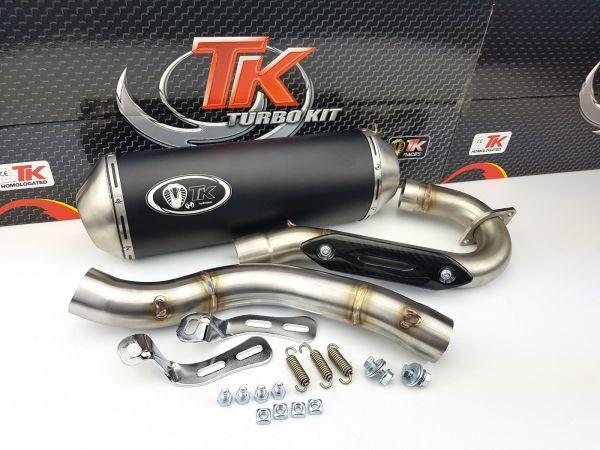 Turbo Kit Edelstahl Sport Auspuff Quad ATV für Yamaha YFZ 450 4T