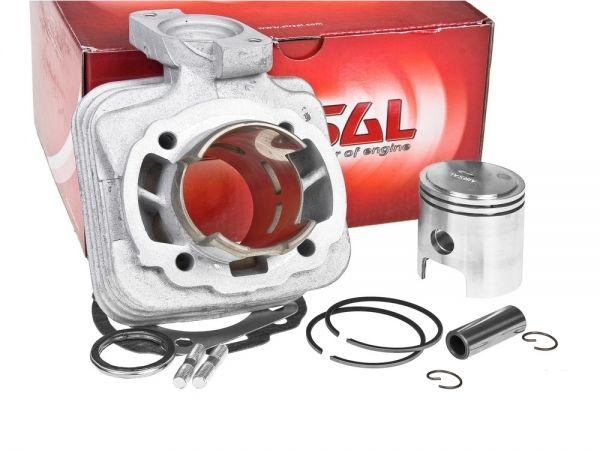 Airsal ALU Sport 70ccm Zylinder Peugeot Speedake stehend 2T AC 50