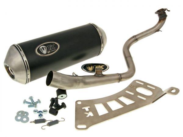 Turbo Kit GMax Auspuff Keeway Silver Blade OUTLOOK Tell Logik 125 150