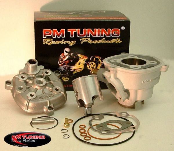 Racing Zylinder PM TUNING X-TECH ALU 70ccm 10mm Bolzen Minarelli