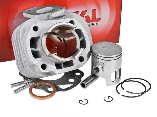 Zylinder Airsal T6-Racing 50ccm Malaguti Rivero Minarelli 10mm E1 50
