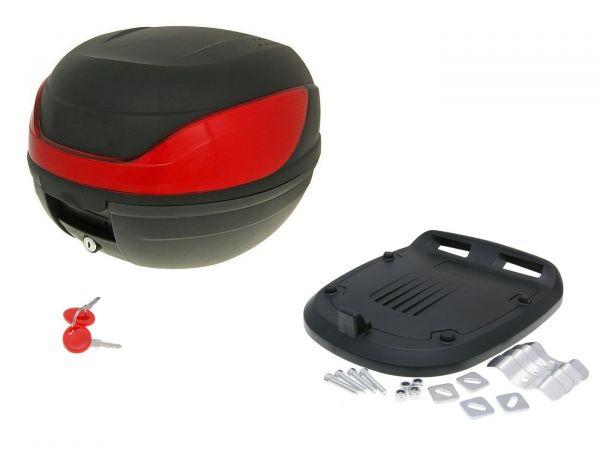 Topcase Maxi Koffer 32L Motorroller Motorrad Quads ATV Roller Scooter