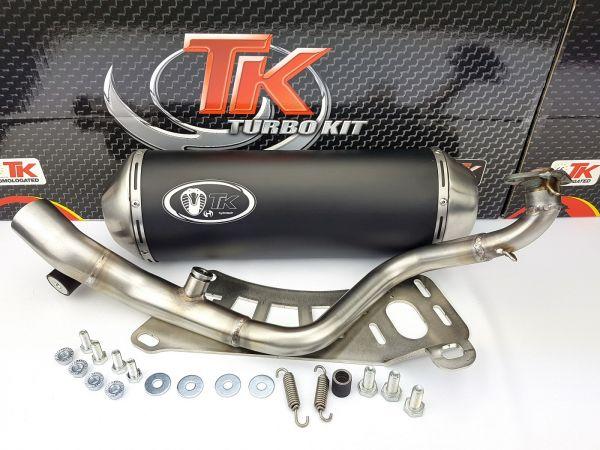 Turbo Kit GMax Sport Auspuff Keeway Tell Logik Silverblade 125 150 4T
