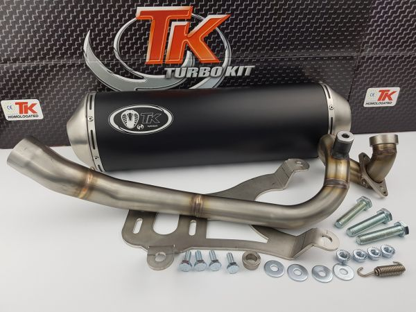 Turbo Kit Sport Edelstahl Auspuff MBK Evolis YAMAHA X Max X City 250