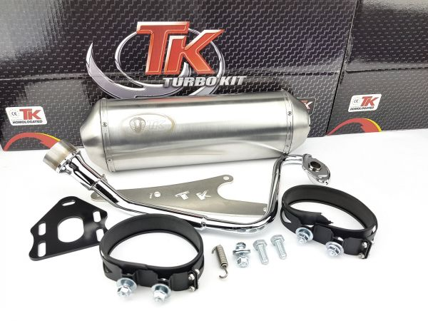 Edelstahl Turbo Kit G Max Sport Auspuff Honda Vision Nsc 4 Takt 50 4T