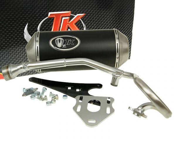 turbo kit gmax sport auspuff honda zoomer nps50 50 4t auspuffanlage scooter roller teile. Black Bedroom Furniture Sets. Home Design Ideas