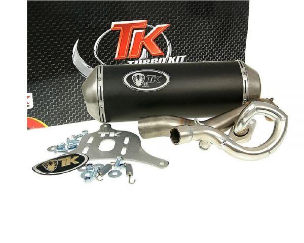 Turbo Kit Gmax Edelstahl Sport Auspuff Suzuki Burgman UH 200 07-18 4T