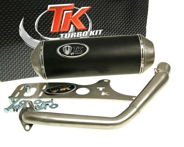 Turbo Kit GMax Sport Edelstahl Auspuff Honda PCX JF28 125 150 10-12 4T