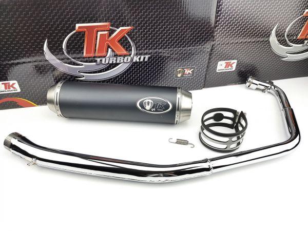 Turbo Kit Custom-Style Chrom Sport Auspuff Daelim VT 125 4T Vergaser