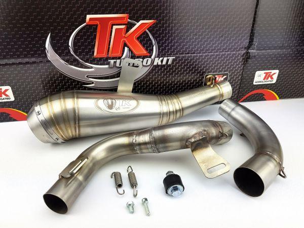 Auspuff Turbo Kit Edelstahl Sport GP KTM RC 125 200 ABS 2011-2016 4T