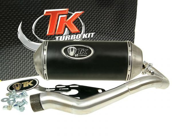Turbo Kit GMax Sport Edelstahl Auspuff Yamaha Majesty 125 150 4T 07-09