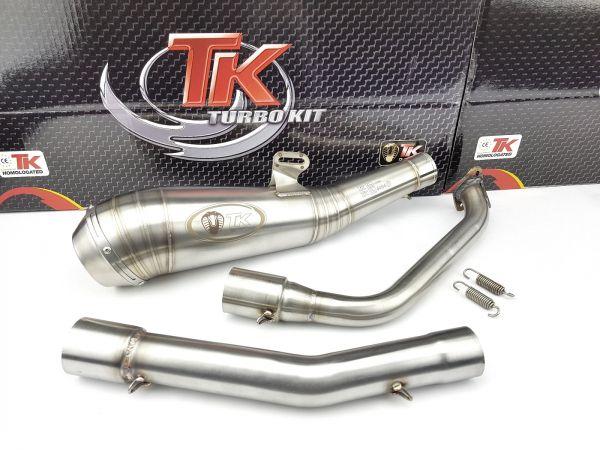 Turbo Kit Edelstahl GP Sport Auspuff Yamaha YZF 125R 125 R MT 19-21 4T