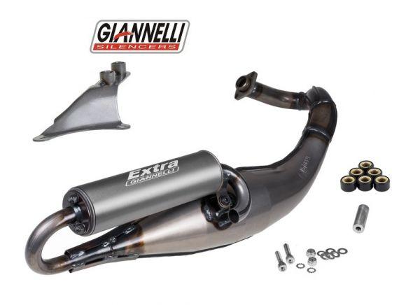 Sportauspuff Giannelli Extra V2 Aprilia Gilera Piaggio Purejet 50 2T